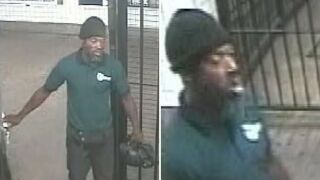 Man wanted after subway conductor pushed onto tracks in Brooklyn