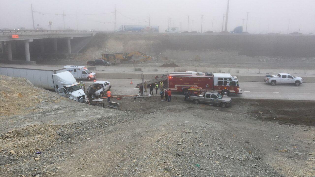 Three wrecks reported on I-35 near Temple