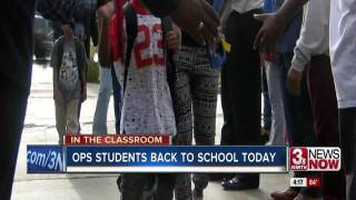 Warm welcome and surprise for area students