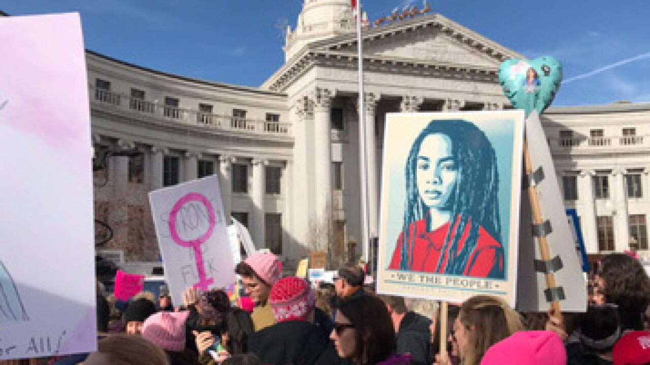 See photos from the Denver Women's March of 2018