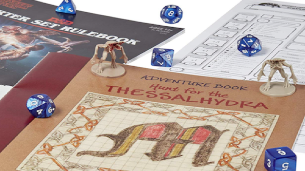 There's Now A 'Stranger Things' Dungeons & Dragons Starter Kit