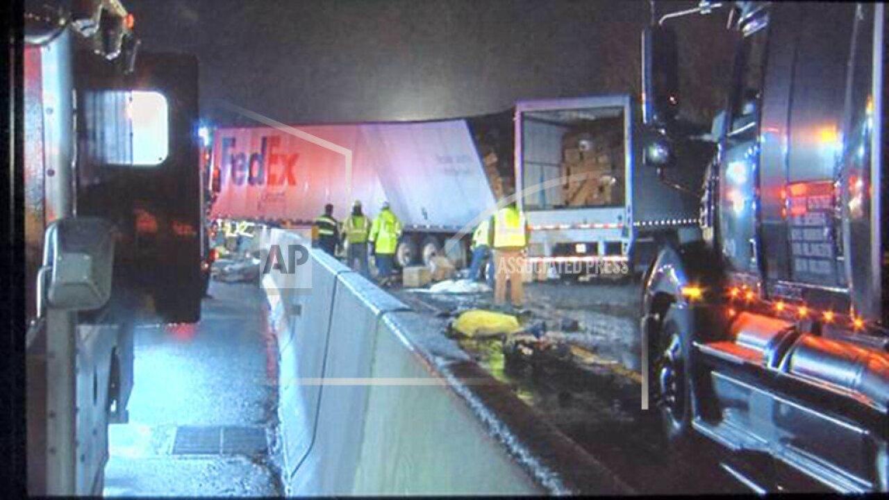 5 killed, dozens injured in massive pileup on Pennsylvania turnpike