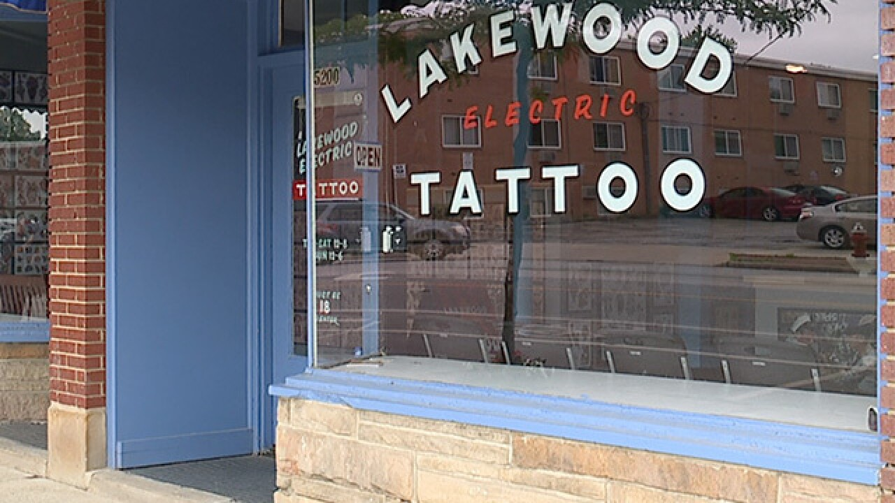 Lakewood tattoo shop targeted by vandals