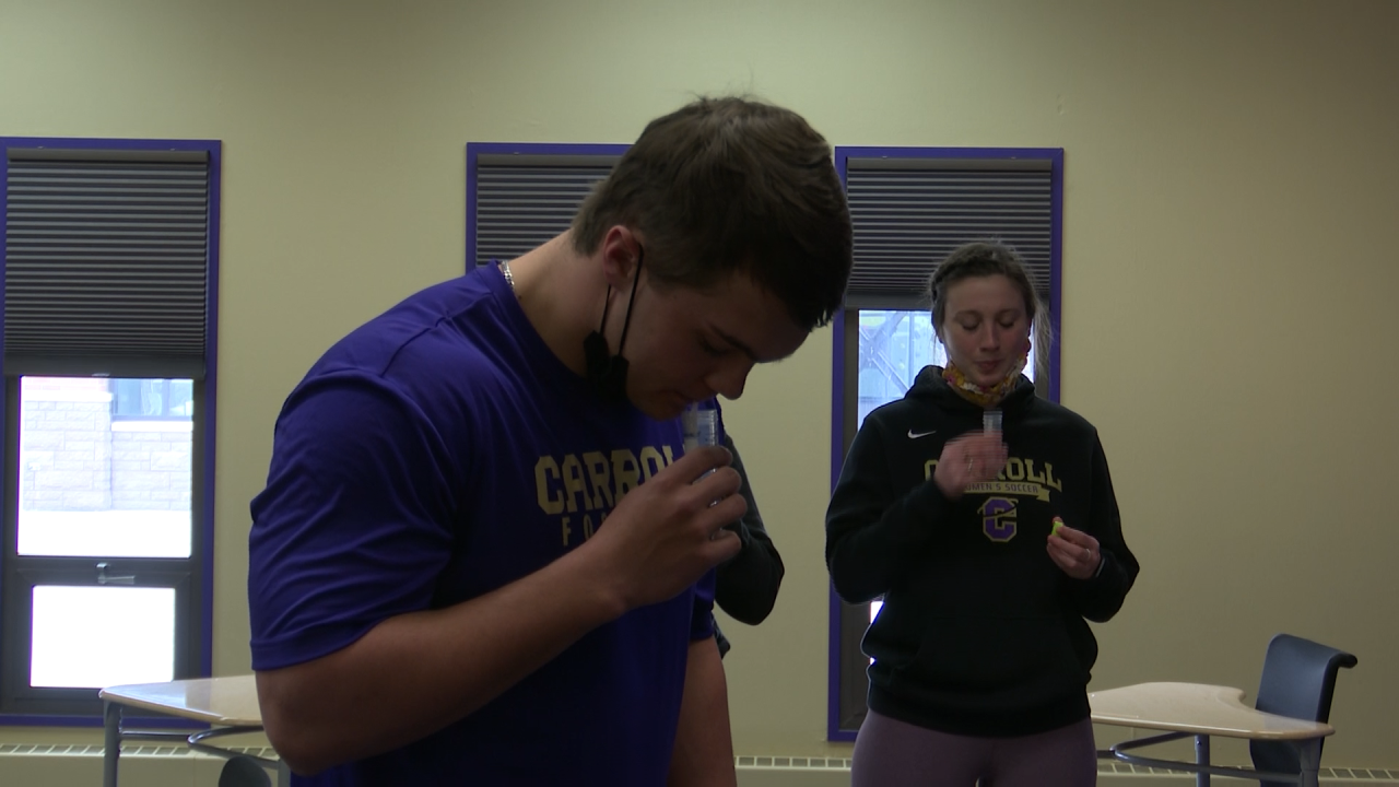 Enhanced testing at Carroll College to benefit athletics