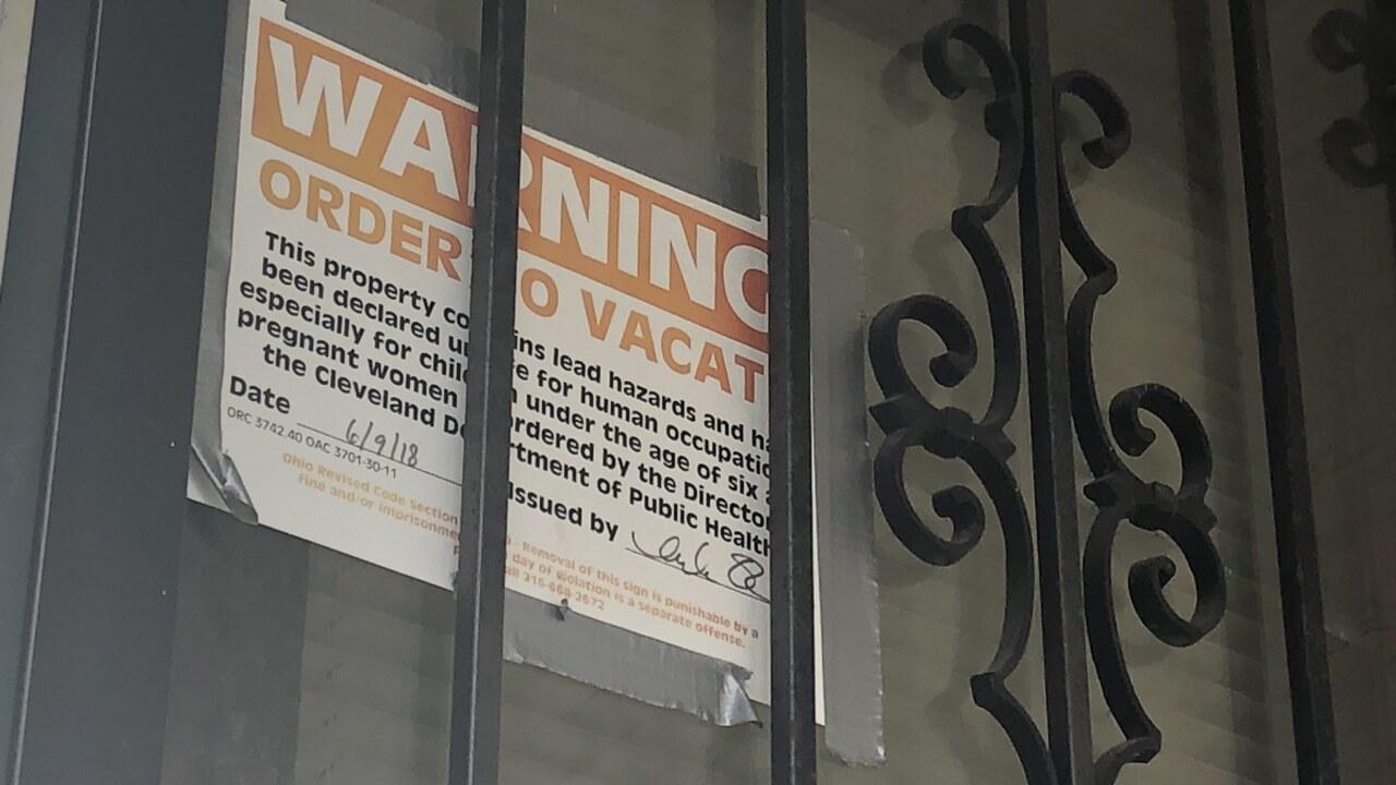 lead placard