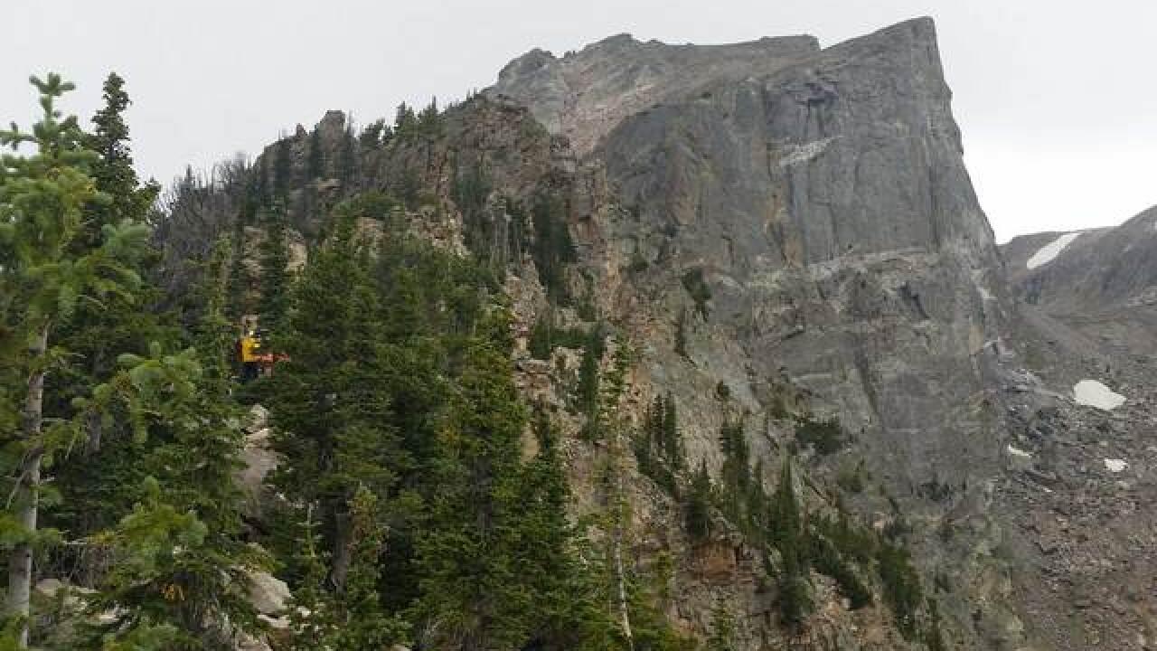 Boulder hillside