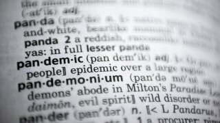 Merriam-Webster's top word of 2020: Pandemic