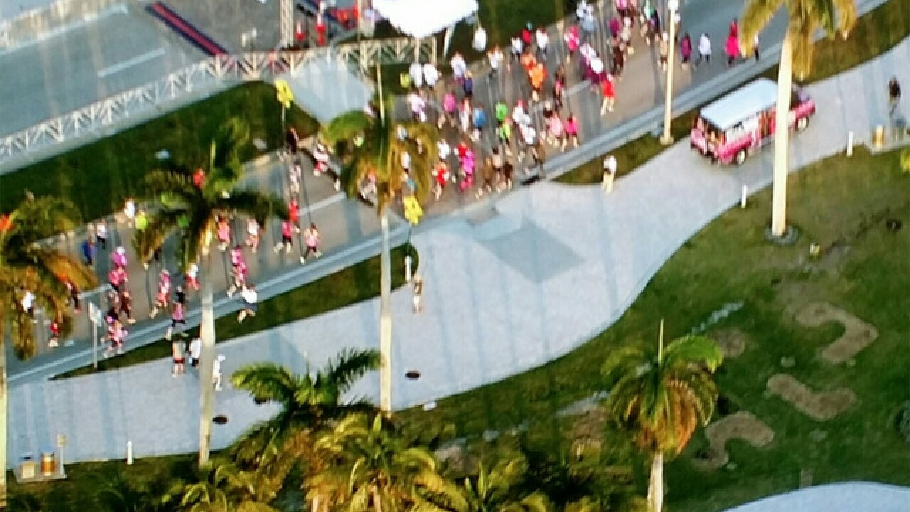 WATCH: Race for the Cure in West Palm Beach
