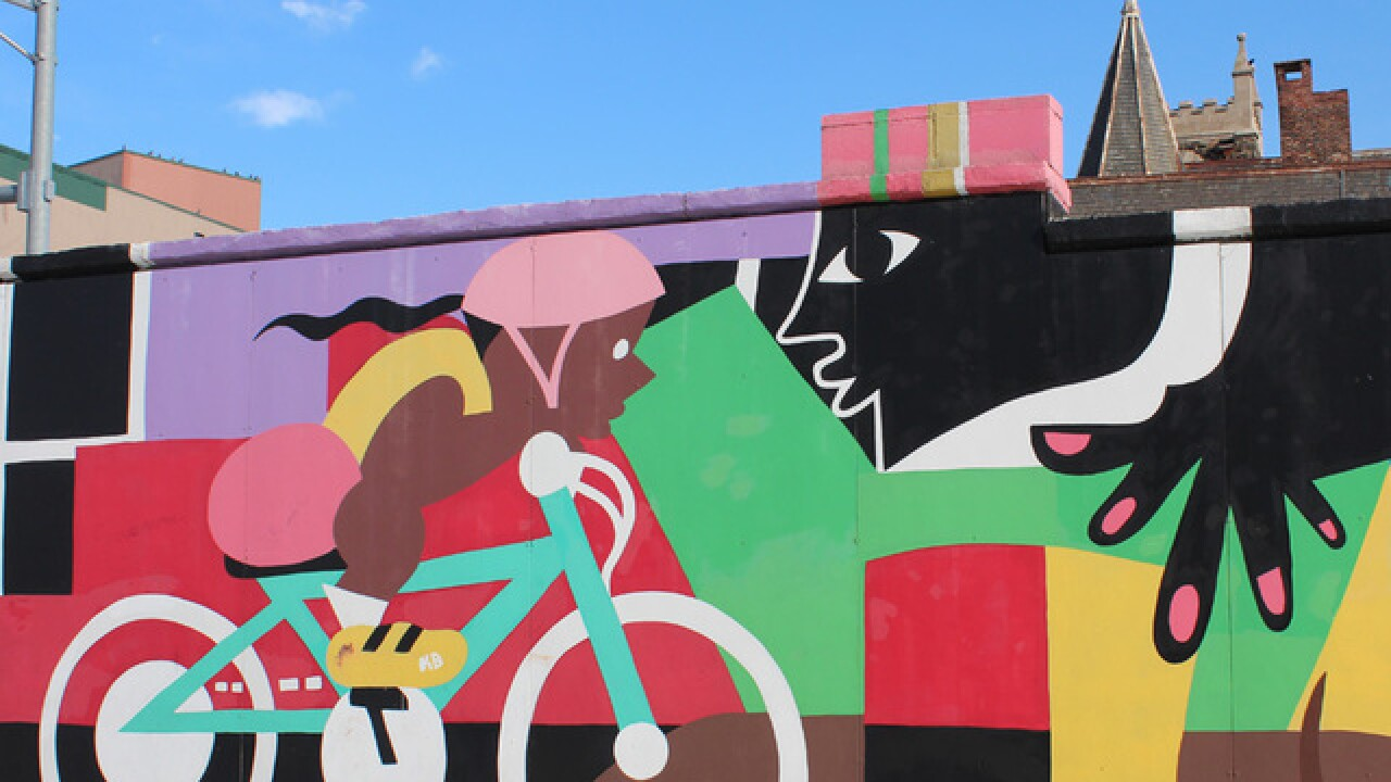 PHOTOS: 'Beautiful Walls for Baltimore' exhibit