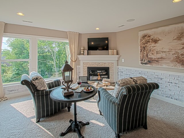 Fischer Homes - The Wheatland - A classic home with spacious owner's retreat