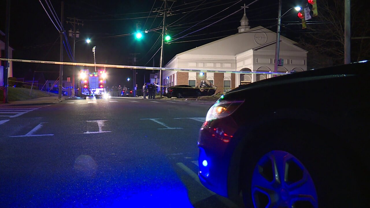 Car crashes into Petersburg church sign; driver critically injured