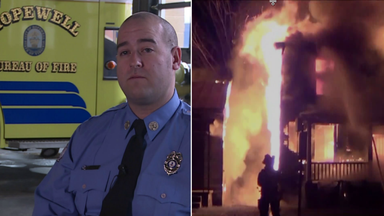 Hopewell firefighter who fought his own demons now helping others: 'It's not a place that I want anyone else tobe'