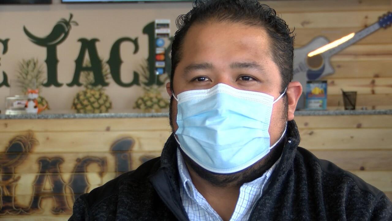 Juan Herrera, co-owner of Dee Tacko