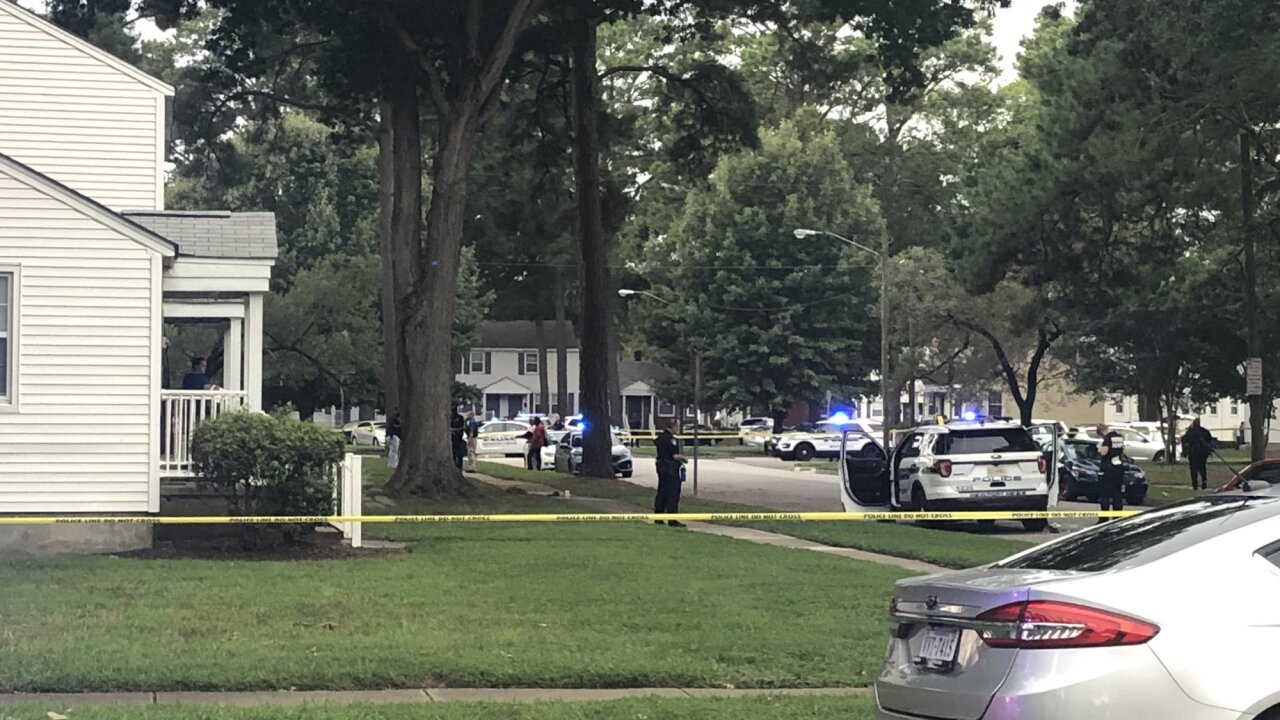 Newport News officer-involved shooting: Officer, civilian and murder suspect wounded