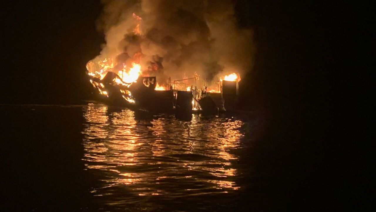 Multiple Fatalities In Boat Fire Near Santa Cruz Island
