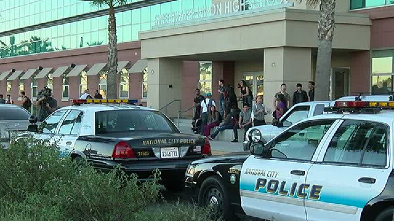 Report of armed teen prompts school lockdown
