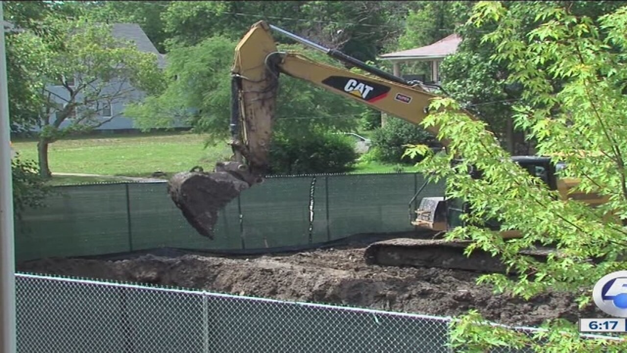 Glenville woman gets response to big dig problem