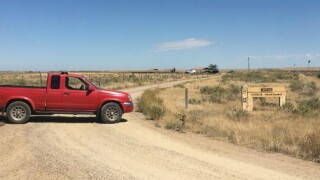 Body found inside burning car in Otero County