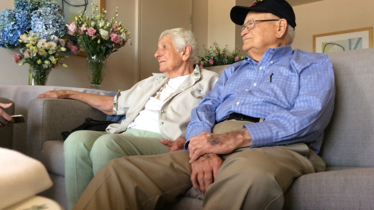 Where are they now? WWII Veteran's love story continues one year later