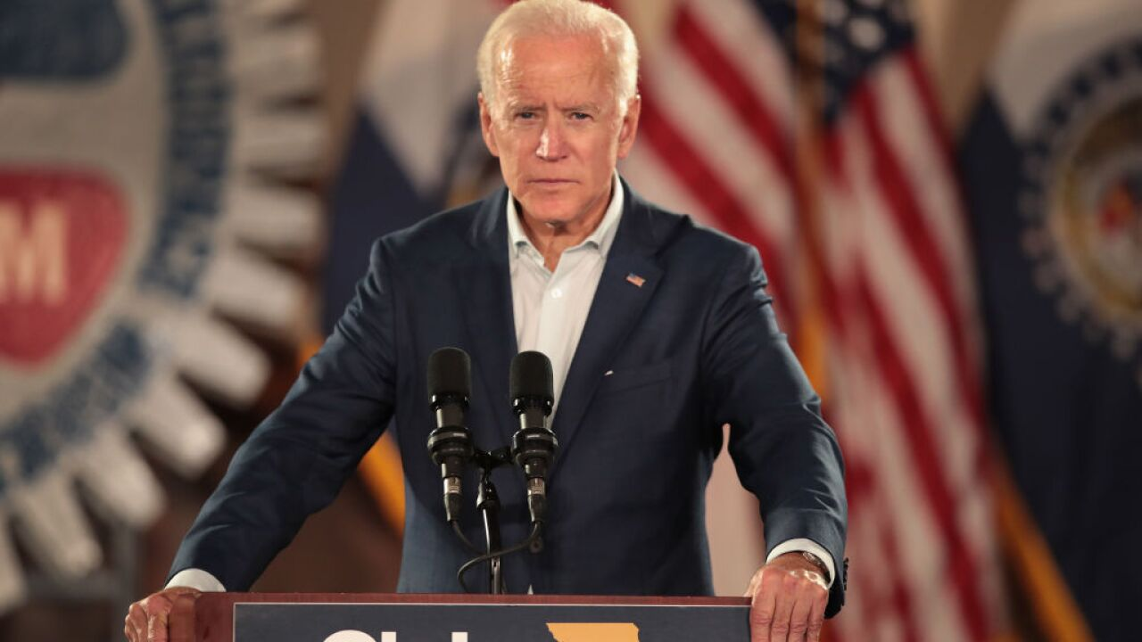 Former VP Joe Biden tells supporters he is running for president, per WSJ