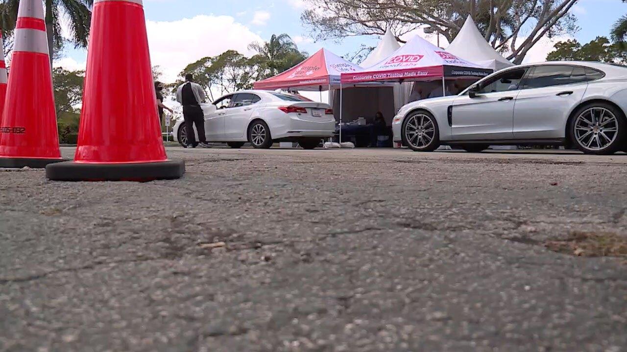 Honda Classic COVID-19 testing on March 16, 2021