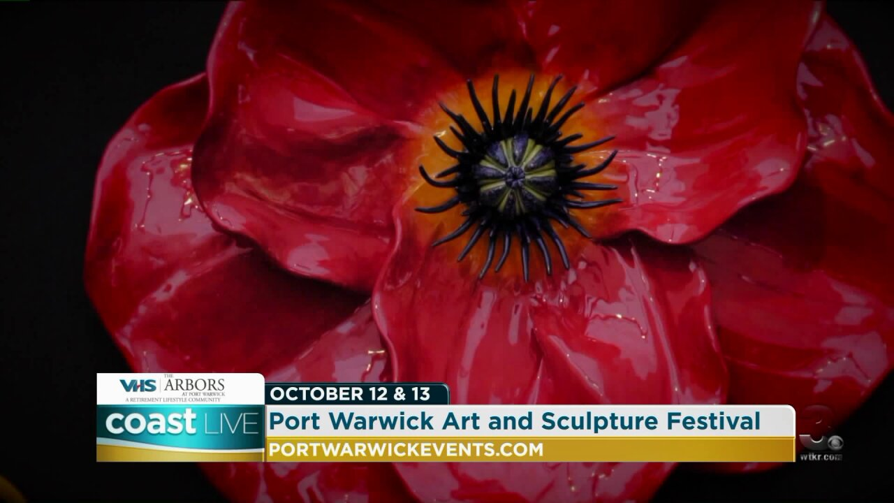 Previewing the Port Warwick Art and Sculpture Festival on Coast Live