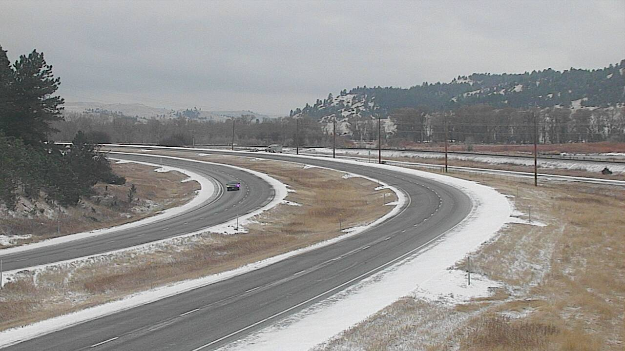 MDT reports I-90 near Reed Point is extremely icy