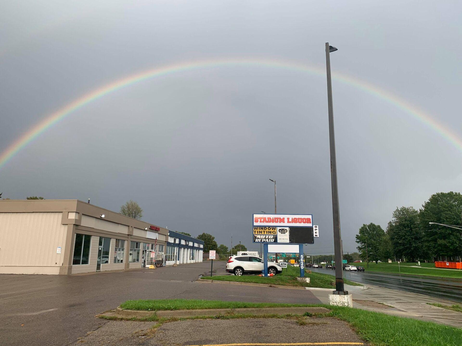 Leandra Reurink - double rainbow in Kalamazoo WX.jpeg