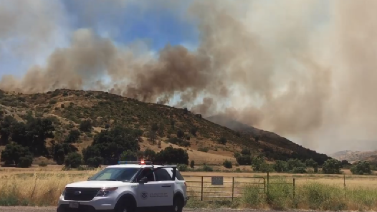 'Gate Fire' near Jamul grows, 30% contained