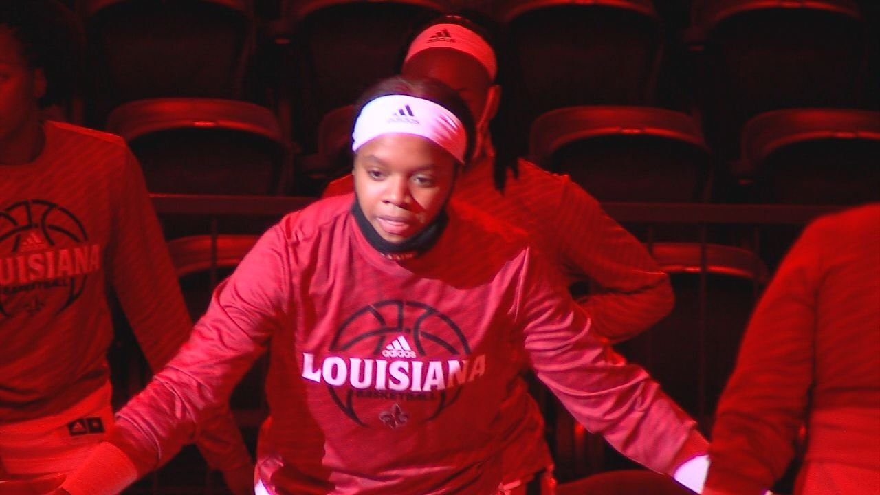 Brandi Williams Louisiana Women's Basketball 2021