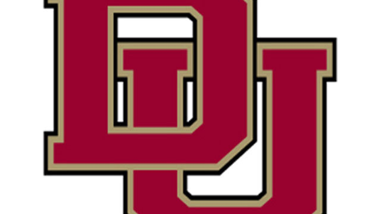 The D-U Pioneers beat Colorado College 6-1 Sunday night at Magness Arena in the NCHC playoffs