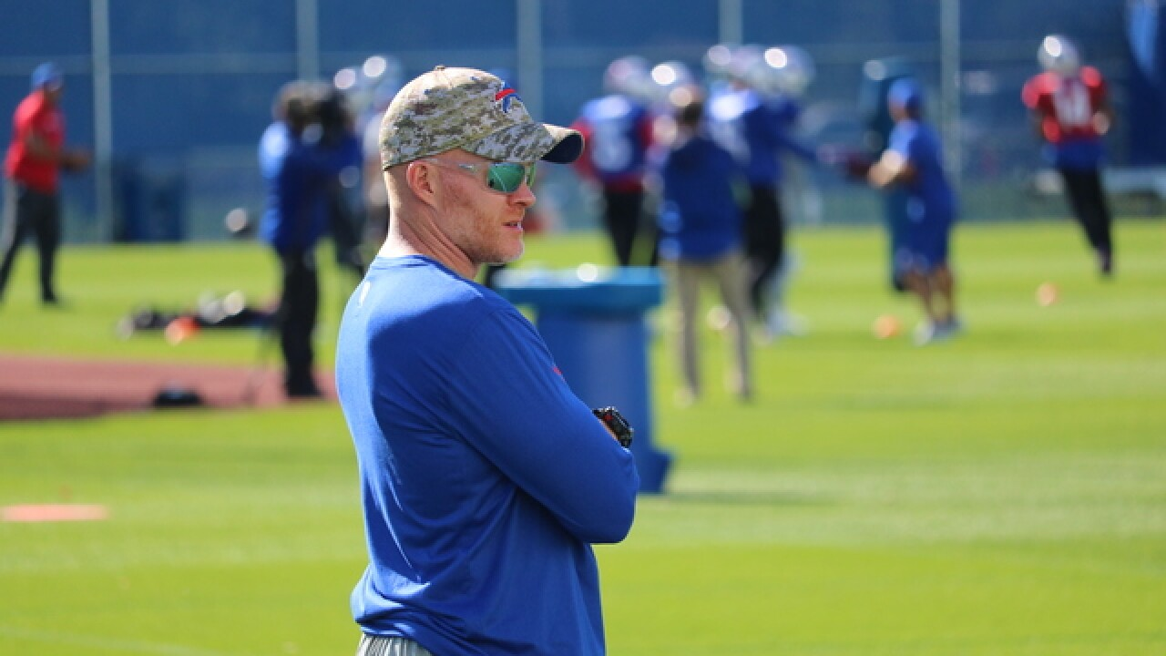 Joe B: 5 takeaways from Buffalo Bills HC Sean McDermott (8/19/18)