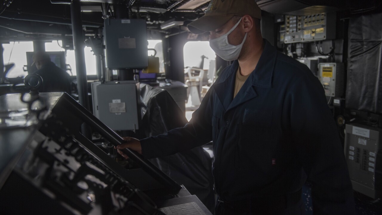 USS Thomas Hudner (DDG 116) Transits the Atlantic