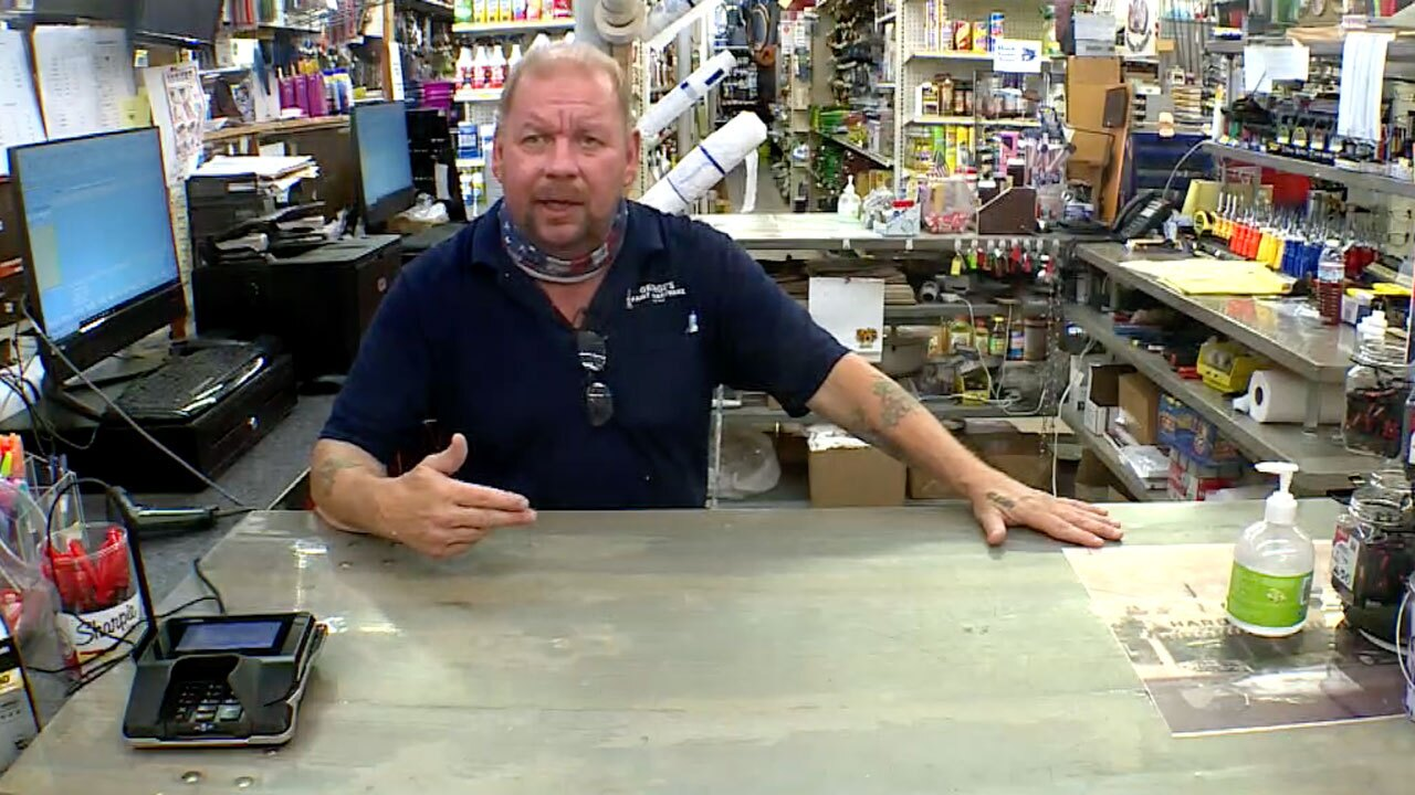 Kevin Cooney, George's Paint and Hardware store