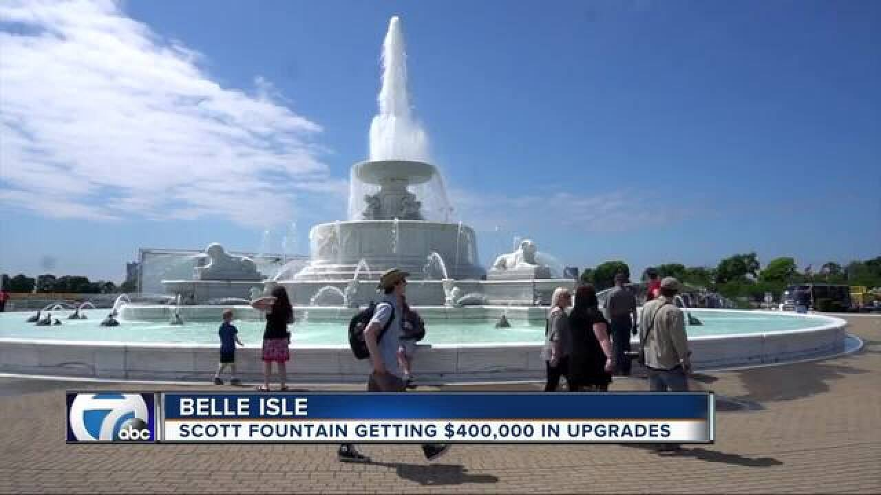 $400K in improvements coming for Scott Fountain