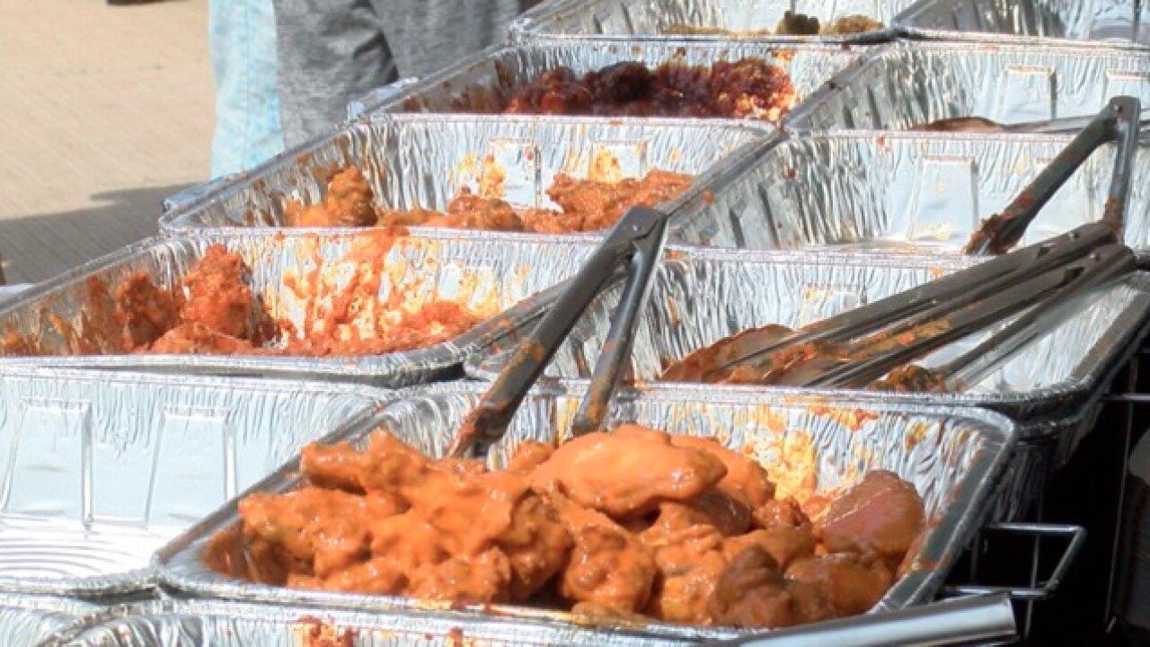 A classic Buffalo event: Wing Fest