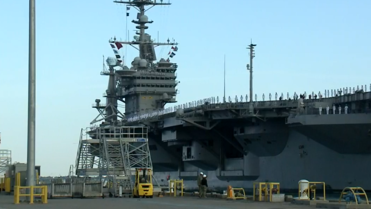 January 2020 Carrier of the Month: USS John C. Stennis