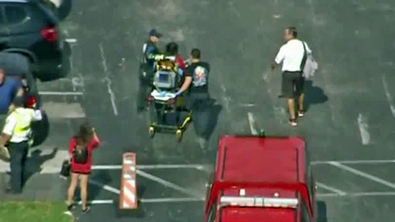 Unknown substance sends multiple Cardinal Gibbons High School students to hospital