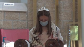 Rent and religion: Young Jewish girl inspired to help others during bat mitzvah