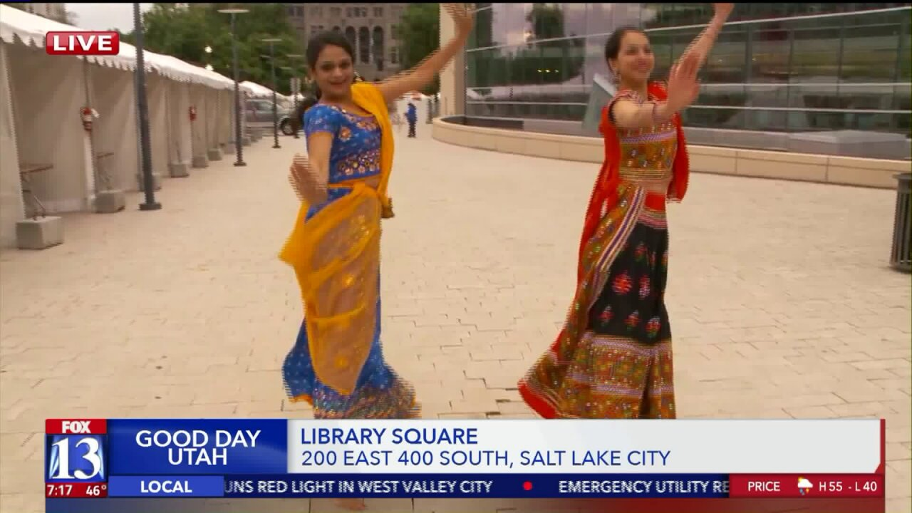 Music, food and more fill Library Square for three-day Living TraditionsFestival