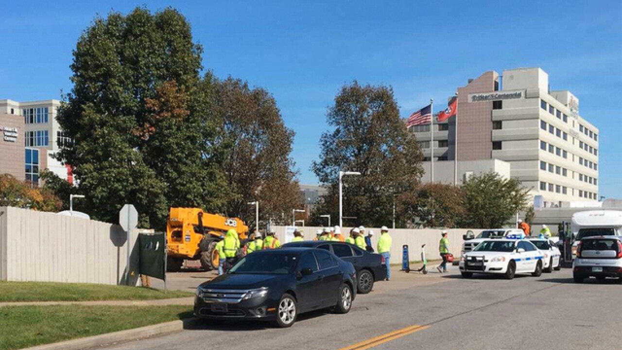 Body found in elevator shaft near hospital