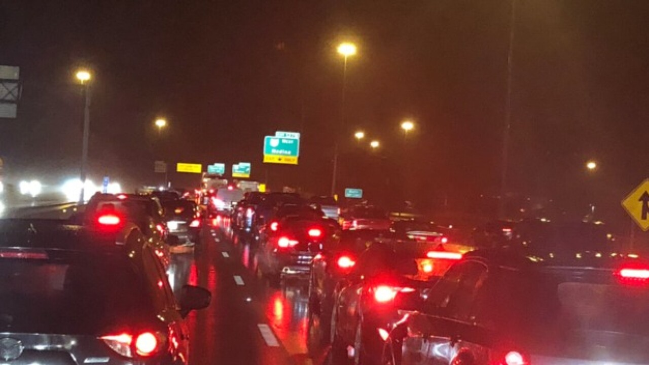 Traffic Alert: Crash on I-77 northbound causing backups near Route 18