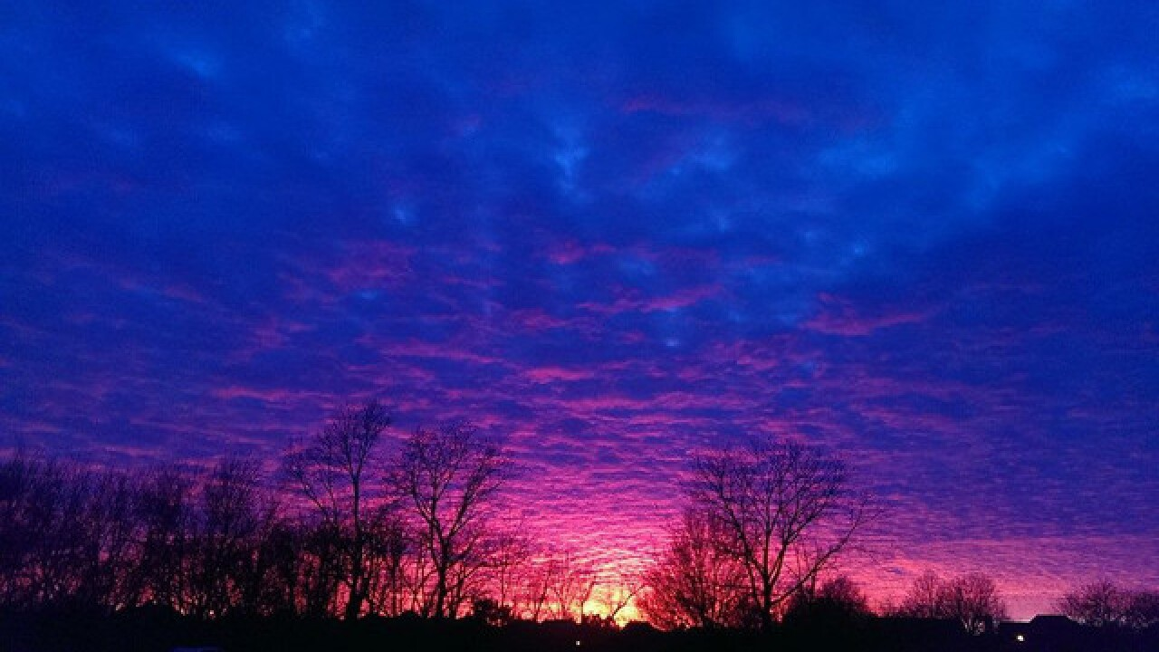 Beautiful Tulsa sunset photos