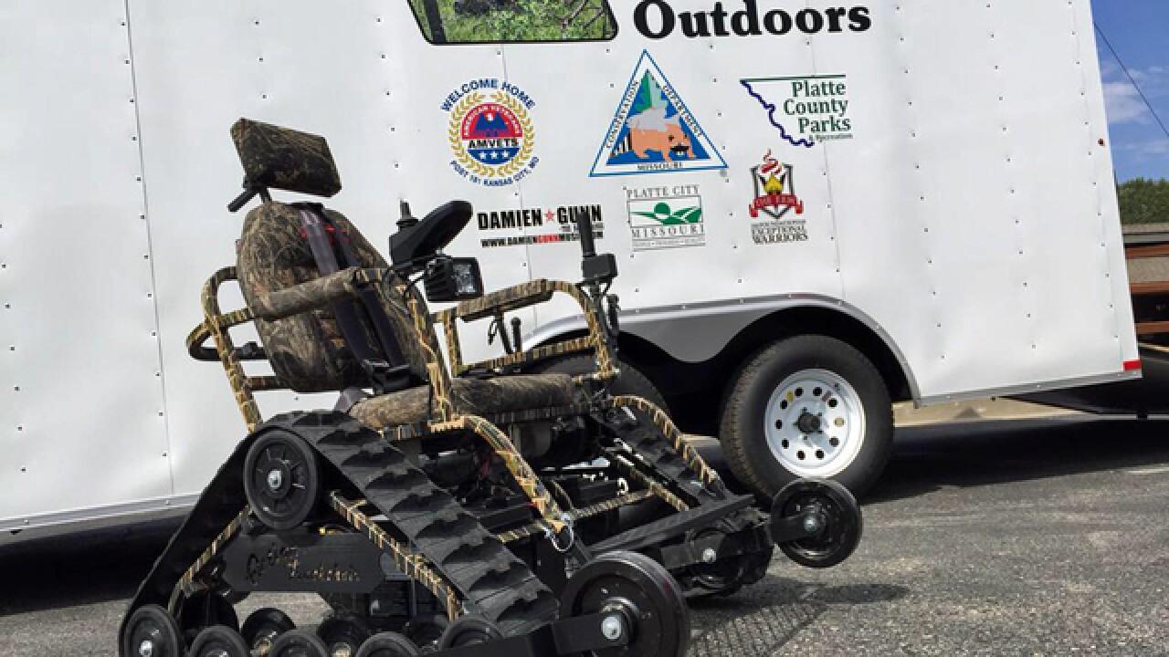 New terrain-ready wheelchair available to public