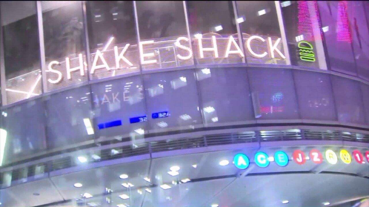 Shake Shack at Fulton Center in Lower Manhattan