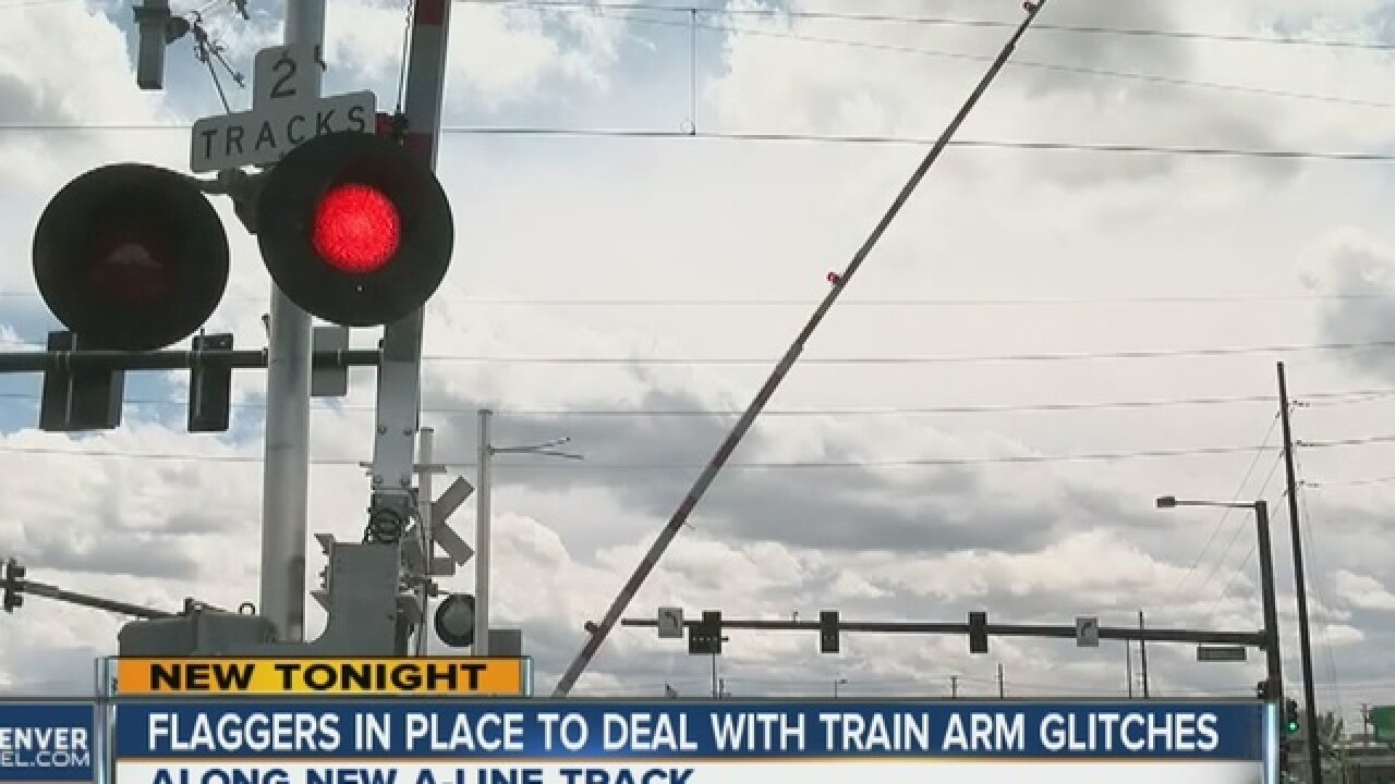 RTD ordered to staff 10 train crossings 24/7