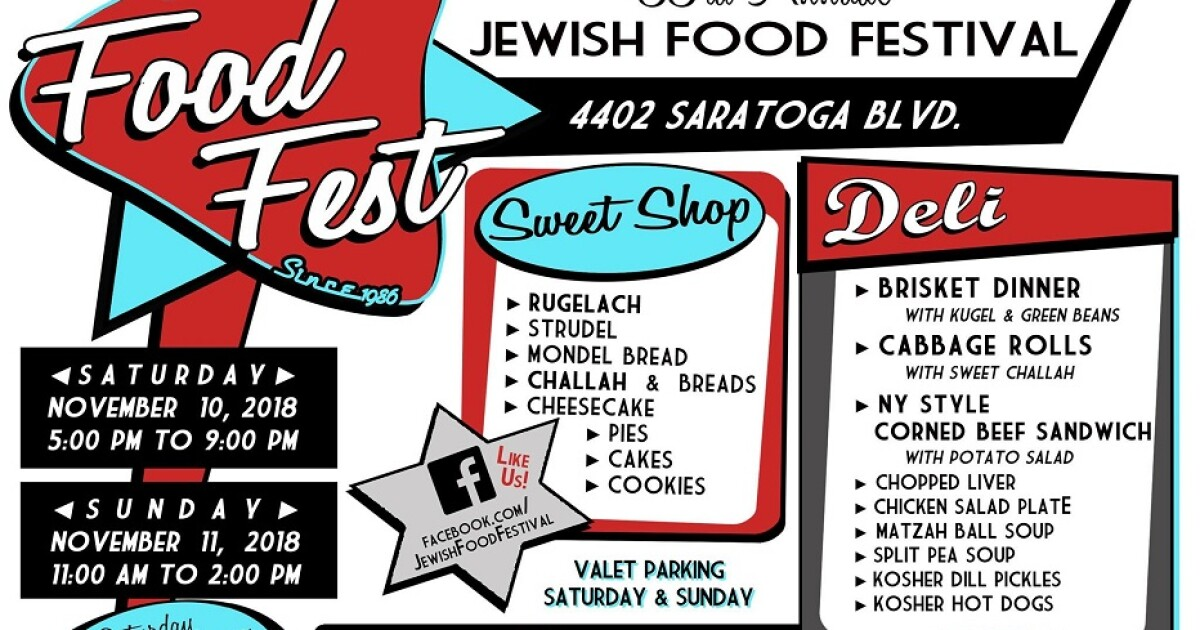 Jewish food galore at the Jewish Food Festival