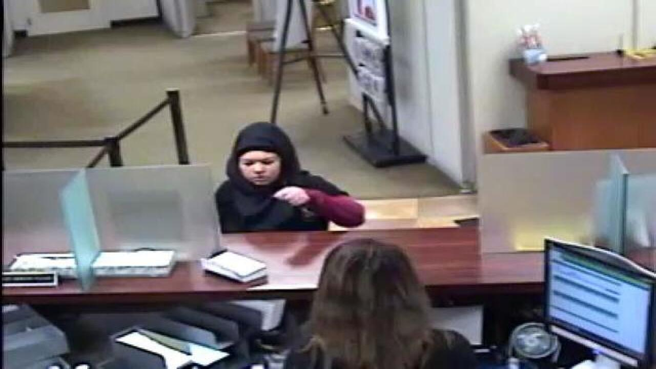 Dearborn police searching for bank robber