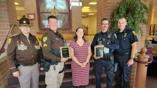 2021 DVSA officers of the year