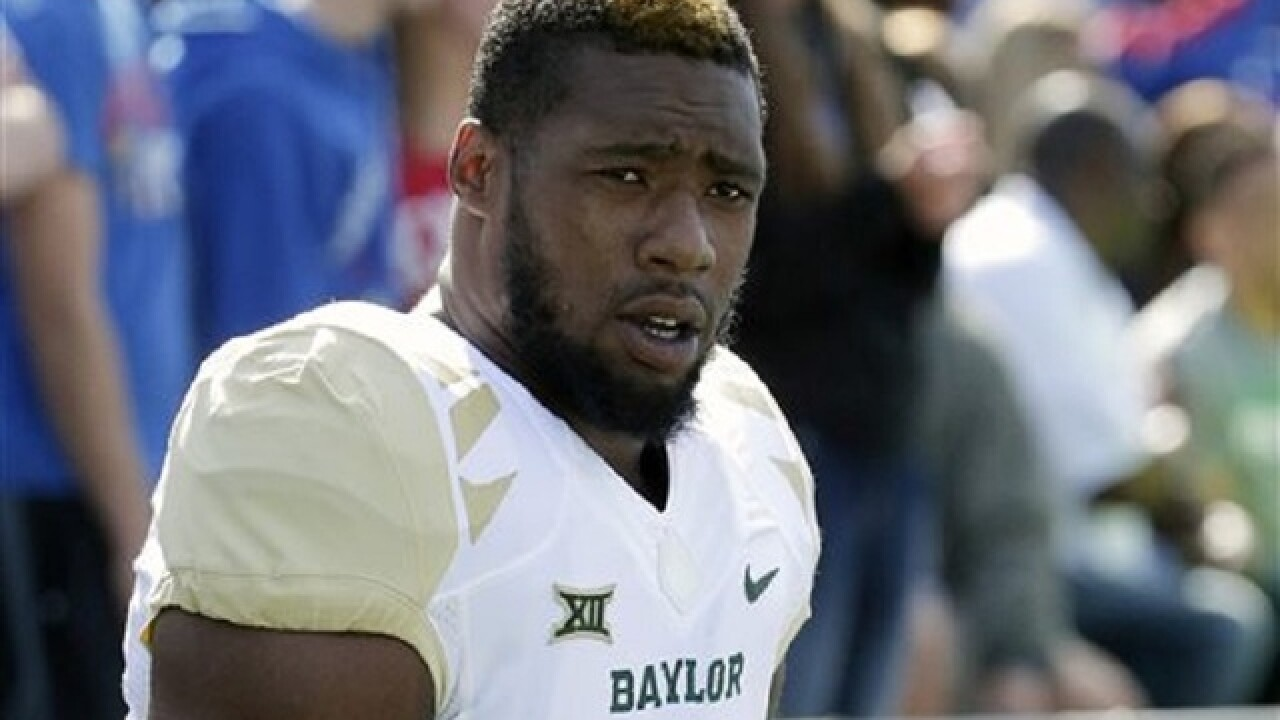 Baylor football player arrested for sex assault